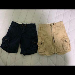 Baby Gap 3 years two pairs cargo shorts boys